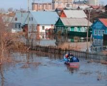 Паводок в Мордовии пошел на убыль