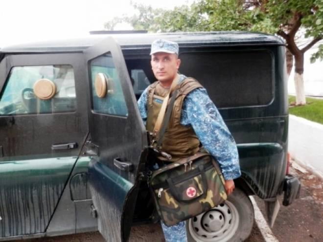 Прапорщик из Мордовии спас жизнь жителю Дагестана