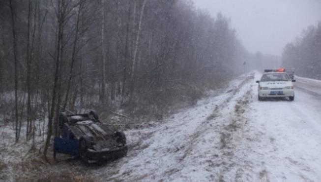 Один человек погиб в утреннем ДТП в Мордовии