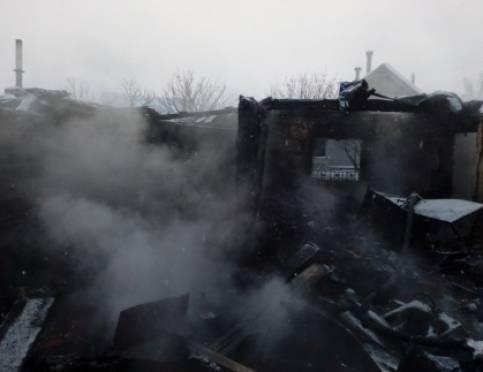 В Зубово-Полянском районе произошел смертельный пожар
