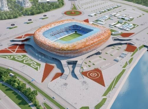 Стадион к ЧМ-2018 в Саранске построят без импортных материалов