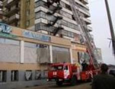 В Мордовии загорелась крыша многоквартирного жилого дома