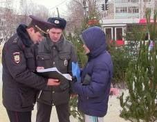 На ёлочные базары Саранска нагрянула полиция
