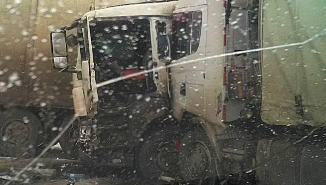 Столкновение 2 грузовиков в Мордовии прокомментировали в ГИБДД