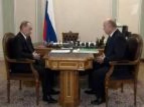 Путин и Меркушкин обсудили возможности дополнительного финансирования Мордовии