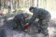 Полицейские Мордовии посадили деревья