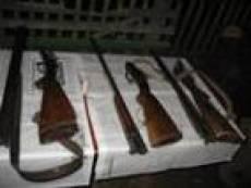 Целый оружейный арсенал сдали два жителя Мордовии