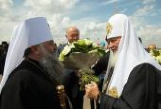 Патриарх Московский и всея Руси Кирилл пребывает в Мордовии с первым официальным пастырским визитом
