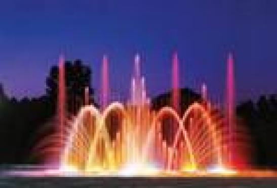 В Саранске состоялся запуск цвето-музыкального фонтана «Торнадо»