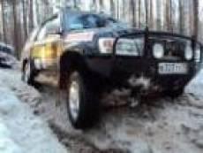 В Зеленой роще (Саранск) проложили трассу для предстоящих межрегиональных гонок внедорожников