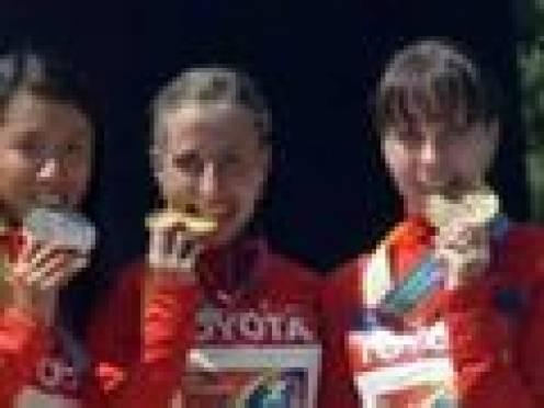 Легкоатлетки из Мордовии взяли «золото» и «бронзу» на Чемпионате мира в Южной Корее