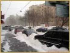 Все коммунальные службы Саранска брошены на ликвидацию последствий снегопада