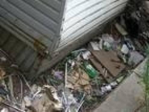 В Саранске обострилась проблема стихийных свалок около гаражей