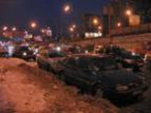 Выпавший снег создал напряженную ситуацию на дорогах Саранска