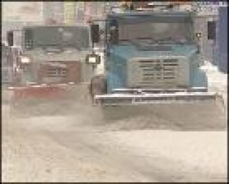 С улиц Саранска коммунальщики вывезли более 250 тысяч тонн снега