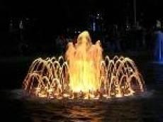 В Саранске завершается строительство цвето-музыкального фонтана