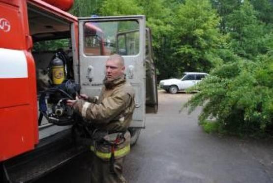 В одной из больниц Саранска сегодня произошел пожар