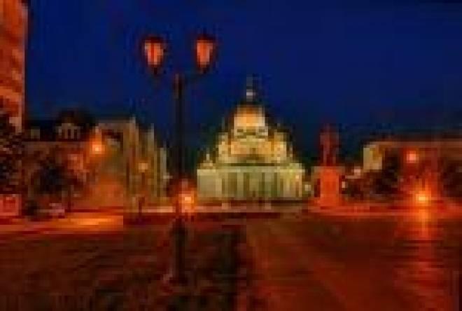 Опыт Саранска по световому оформлению улиц заинтересовал власти Пензы