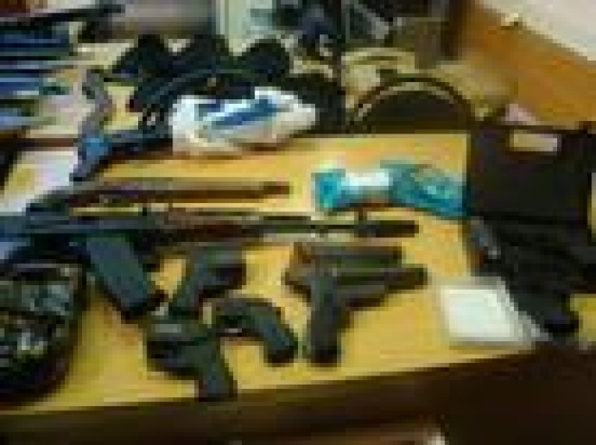 В Мордовии обнаружен крупный оружейный арсенал