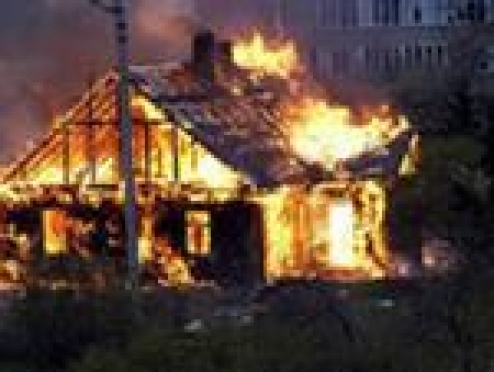 В Мордовии пожар едва не спалил целую деревню