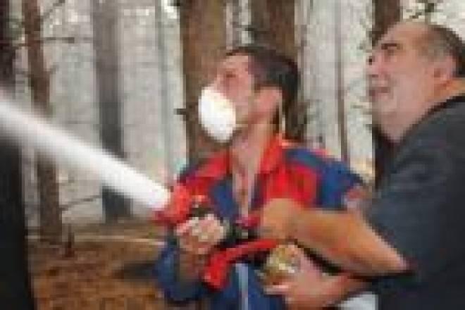 Лесной пожар в заповеднике им.Смидовича в Мордовии практически ликвидирован