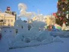 Новогоднее убранство Советской площади Саранска останется без изменений до конца месяца