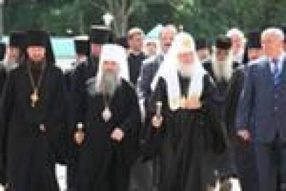 В Саранске проходит выставка «Патриарх Кирилл и Мордовия»