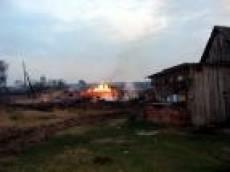 По вине школьников в Краснослободском районе Мордовии сгорело 12 домов