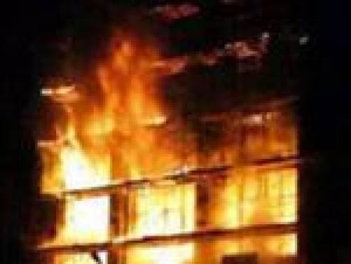 В Саранске сгорела «Сегежская упаковка»