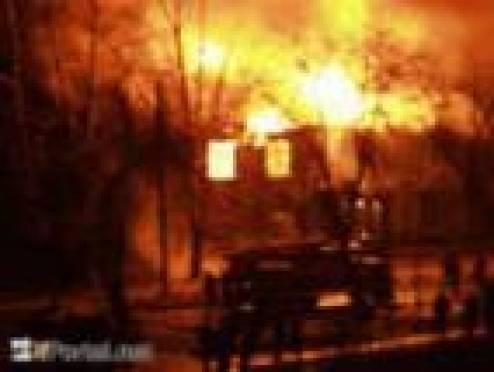 Два местных жителя погибли этой ночью в пожаре в селе Мордовский Пимбур