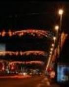 Из-за аномальной погоды в Саранске сроки установки новогодних украшений города затягиваются