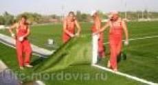 На стадионе «Старт» в Саранске будет сменено покрытие футбольного поля