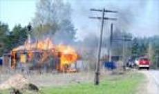 Районы Мордовии не готовы к пожароопасному сезону