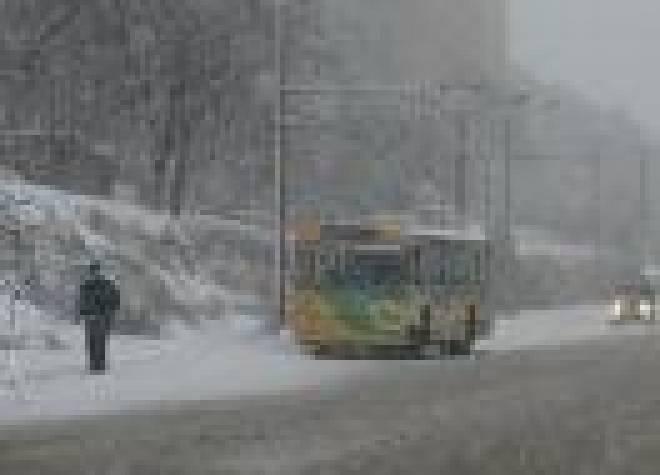 Сильные морозы стали причиной транспортных проблем в Саранске