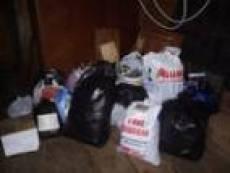 Партия гуманитарной помощи погорельцам Мордовии была найдена на свалке