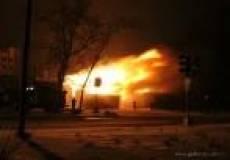 В Саранске сгорел склад хлебобулочной продукции