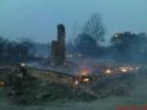 23 жилых дома сгорело в  Зубово-Полянском районе Мордовии