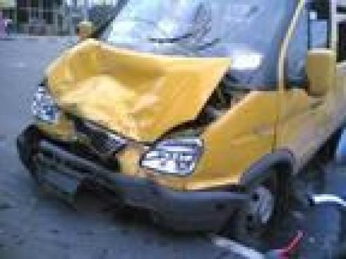В Мордовии крупная авария: «Газель» столкнулась с «Маздой»