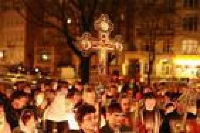 В Пасхальных богослужениях в Мордовии приняли участие около 40 тысяч человек