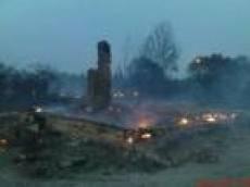 Лесной пожар в Зубово-Полянском районе Мордовии уничтожил 50 жилых домов