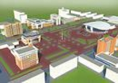 Строительство площади 1000-летия в Саранске ведется под особым контролем