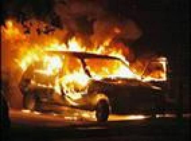 Замначальника УВД Саранска сгорел в своем автомобиле