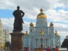 Самым темным местом в Саранске оказалась Соборная Площадь