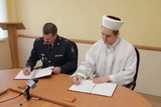 Дубравлаг Мордовии подписал договор с Центральным духовным управлением мусульман республики